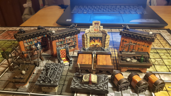 The best thing about Heroquest is…