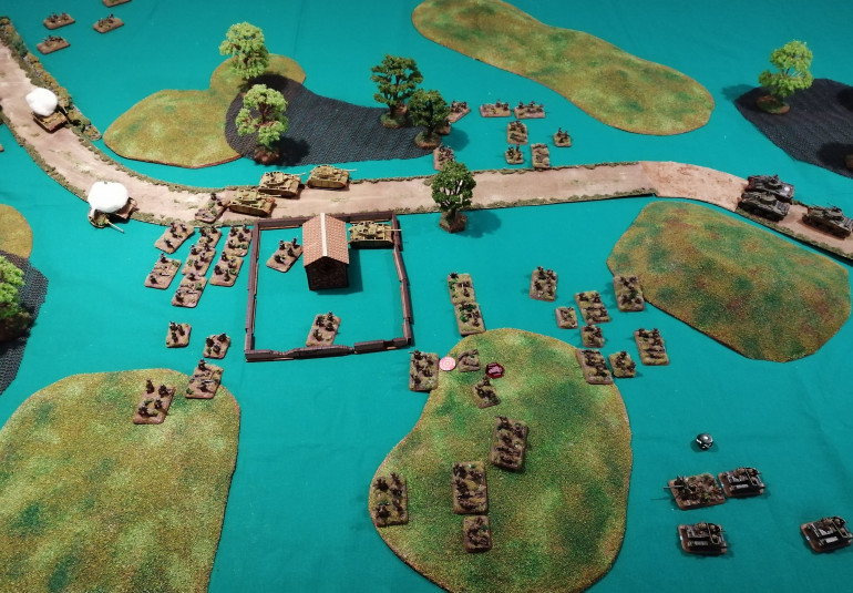 Anzio - Second Table Top Battle Report (Turns 6 and 7)