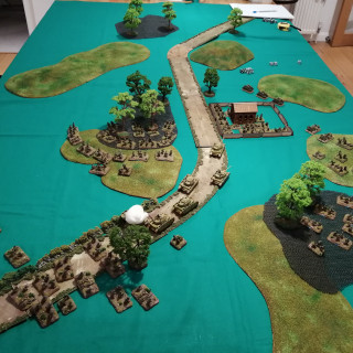 Anzio - Second Table Top Battle Report (Turn 3)