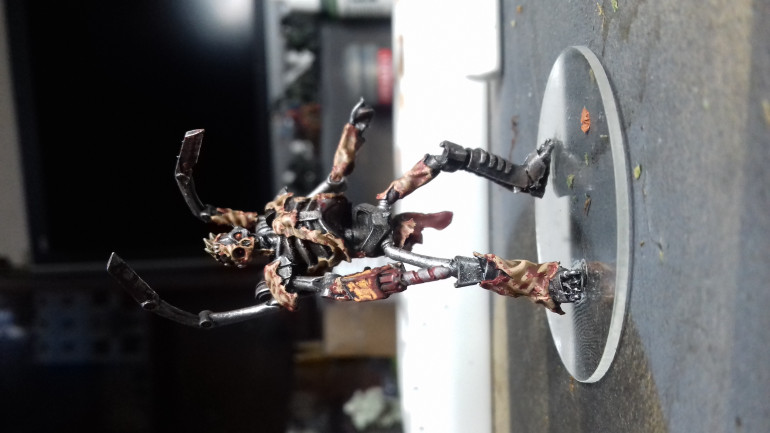 Having got out all my Shivers (see next post) to paint, I decided to paint the Manchine model as I thought this would be a great quick easy way to double my model count.