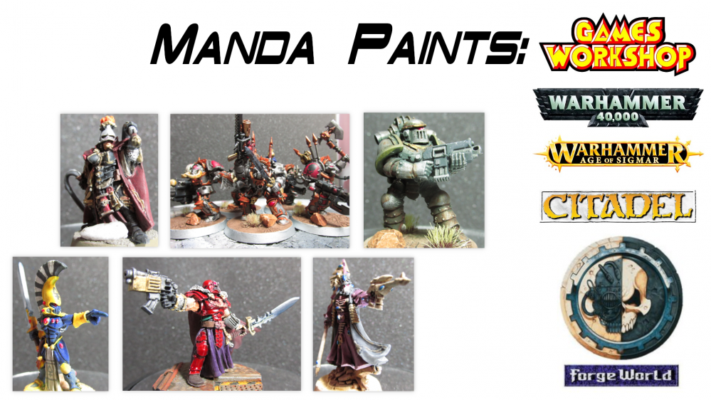 Manda's (Amachan) Paints: Games Workshop