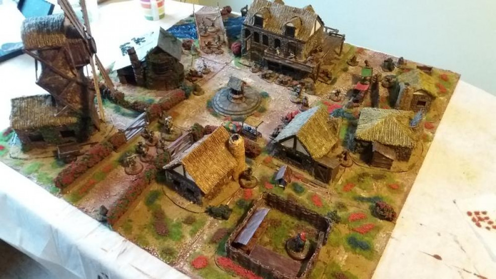Soldado's Burrows and Badgers terrain - Part the second! The Mansion of Marneous Blackwick!