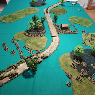 Anzio - Second Table Top Battle Report (Turns 1 and 2)