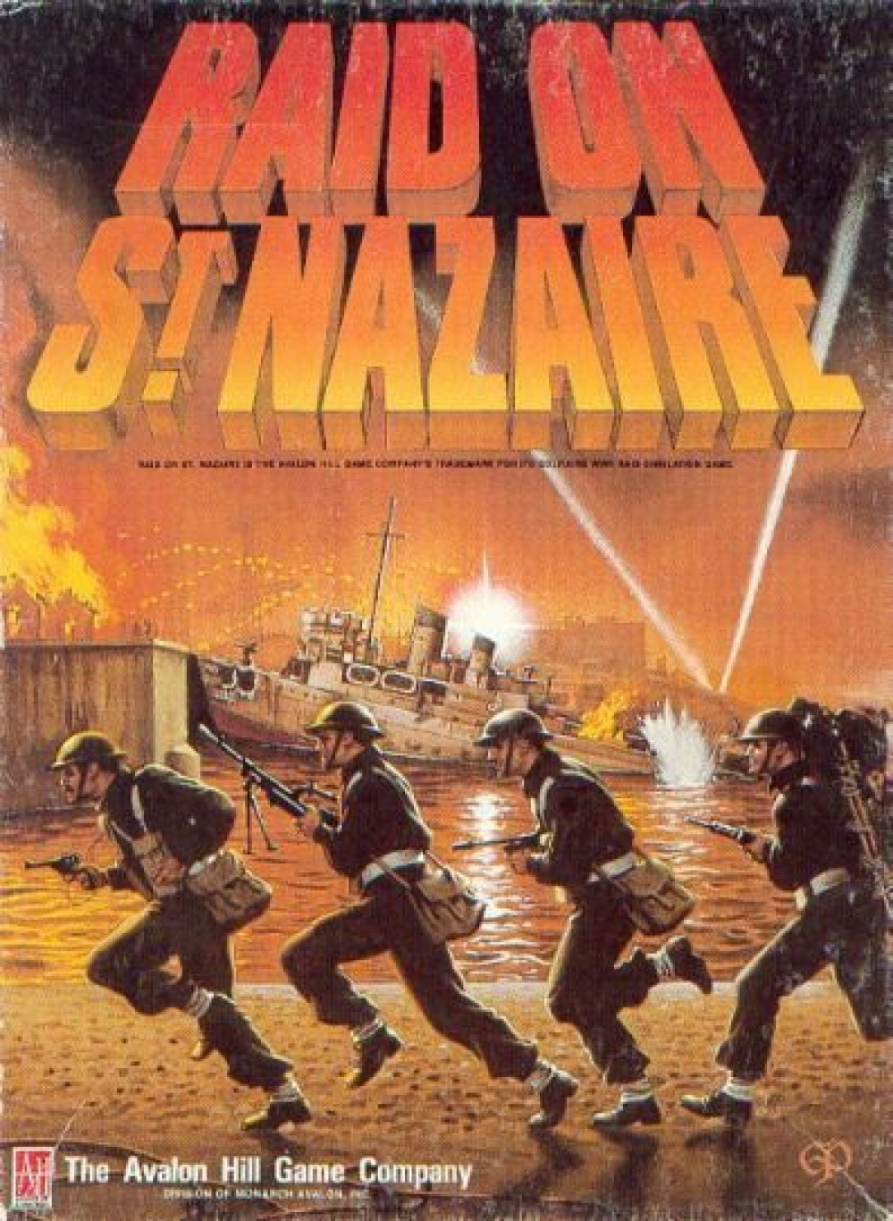 Raid On St Nazaire (Tabletop Simulator of Avalon Hill board game)