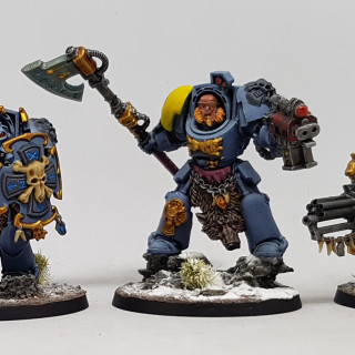 Iron Priest, Marines & Terminators Finished