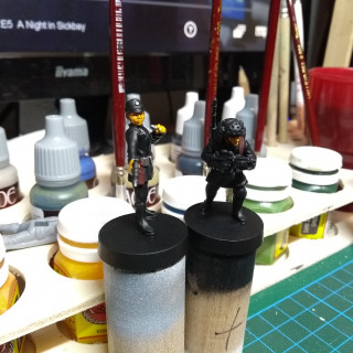 Imperial Officer and Comms Technician