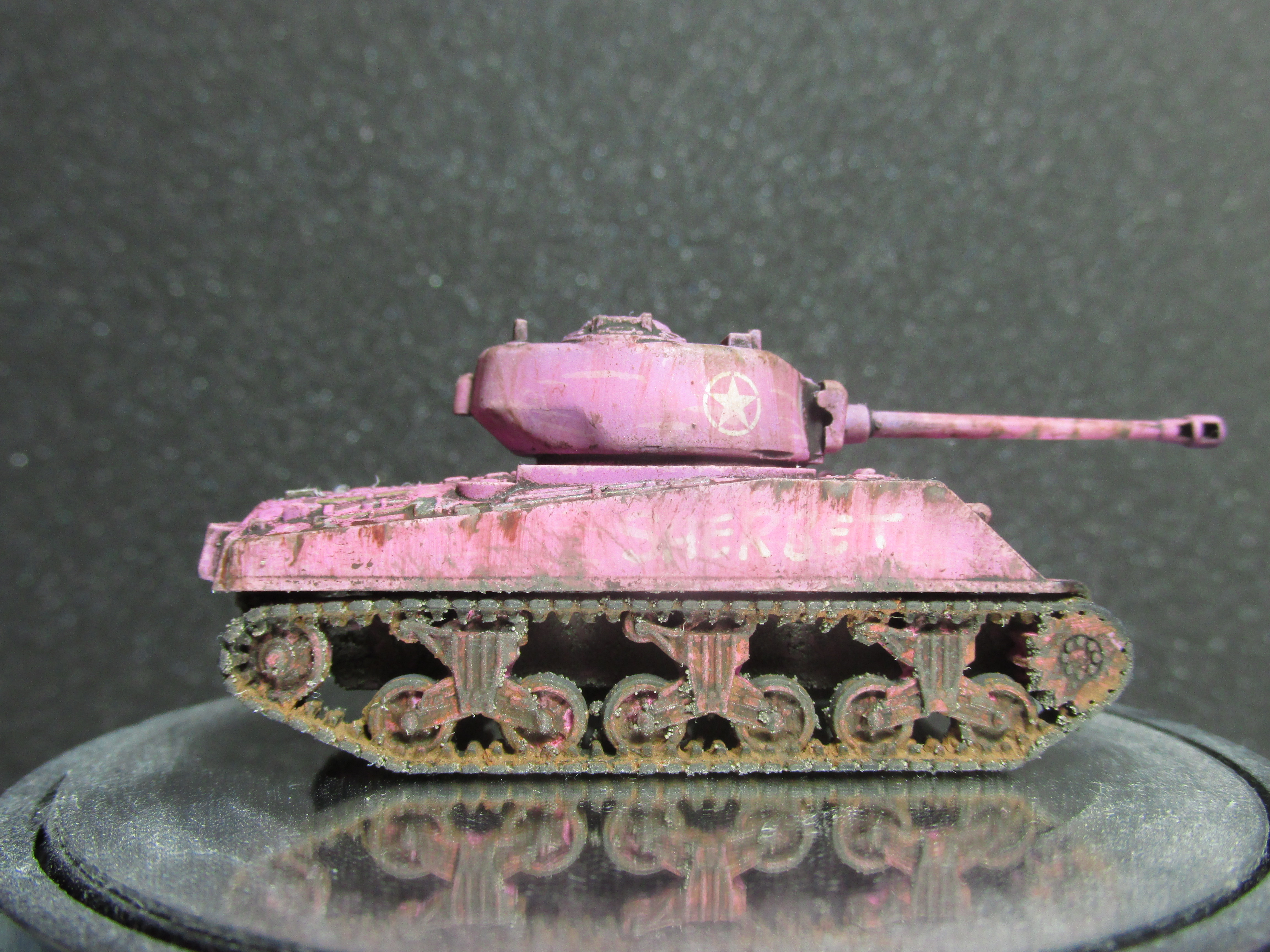"M4A2 Sherman ""Sherbet"" – OnTableTop – Home of Beasts of War"