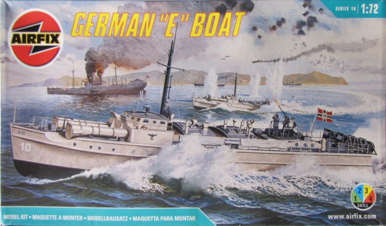 Even the S-boat image has thems shown speeding into action