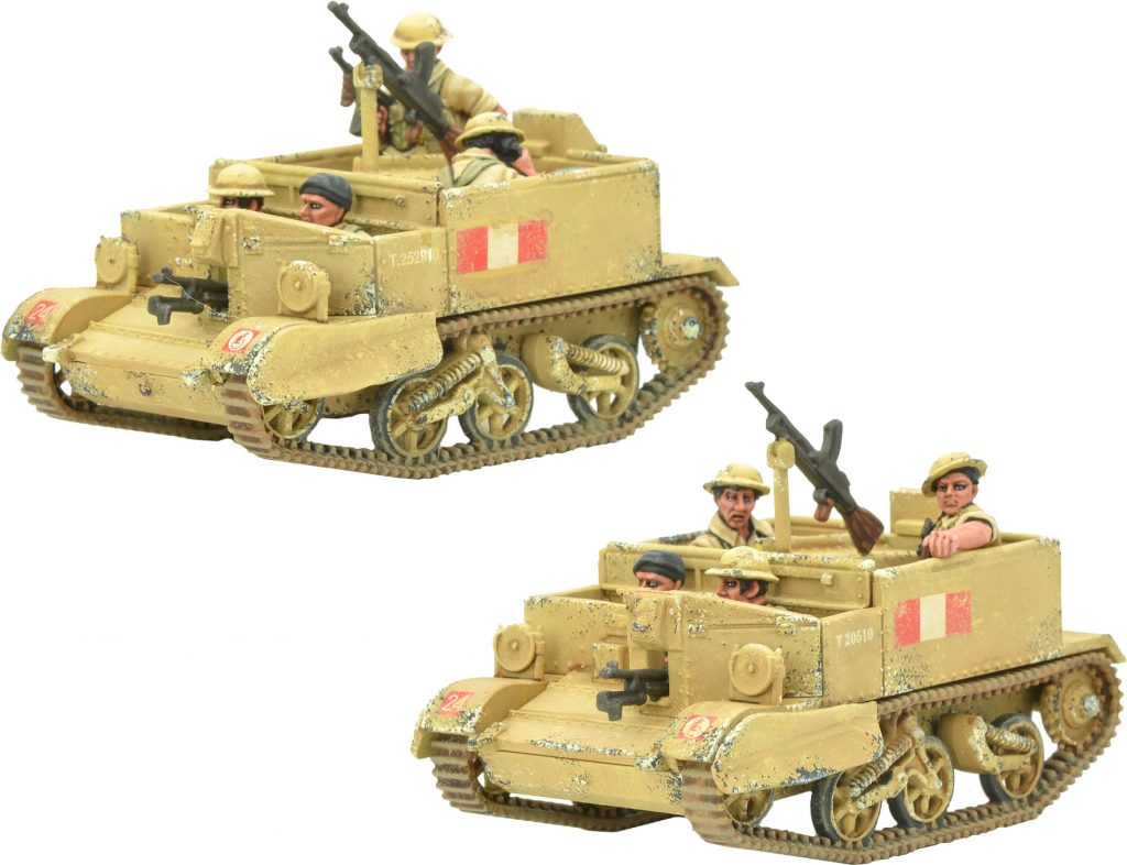 8th Army Carrier Patrol #1 - Warlord Games