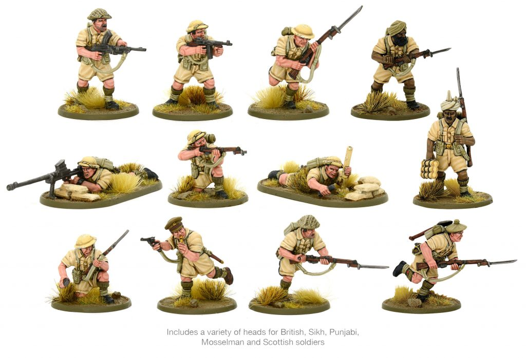 8th Army Carrier Patrol #2 - Warlord Games
