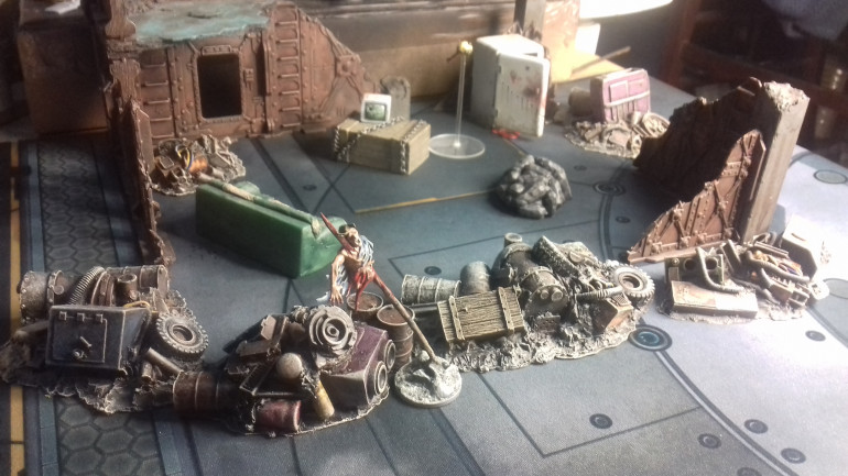Scatter Terrain finished