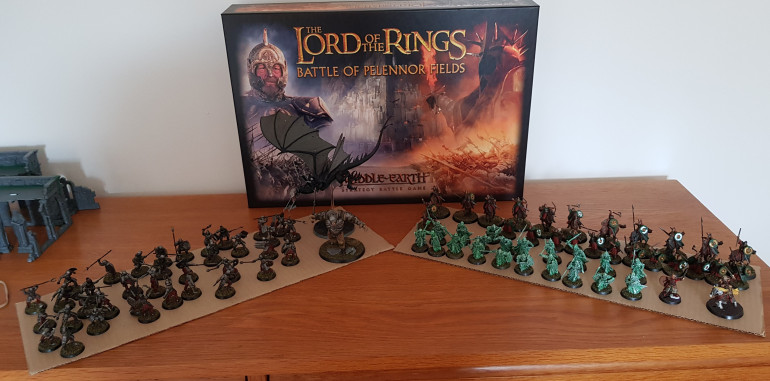 84 models painted