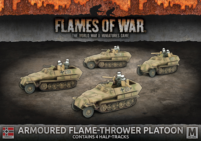 Armoured Flame-thrower Platoon - Flames Of War