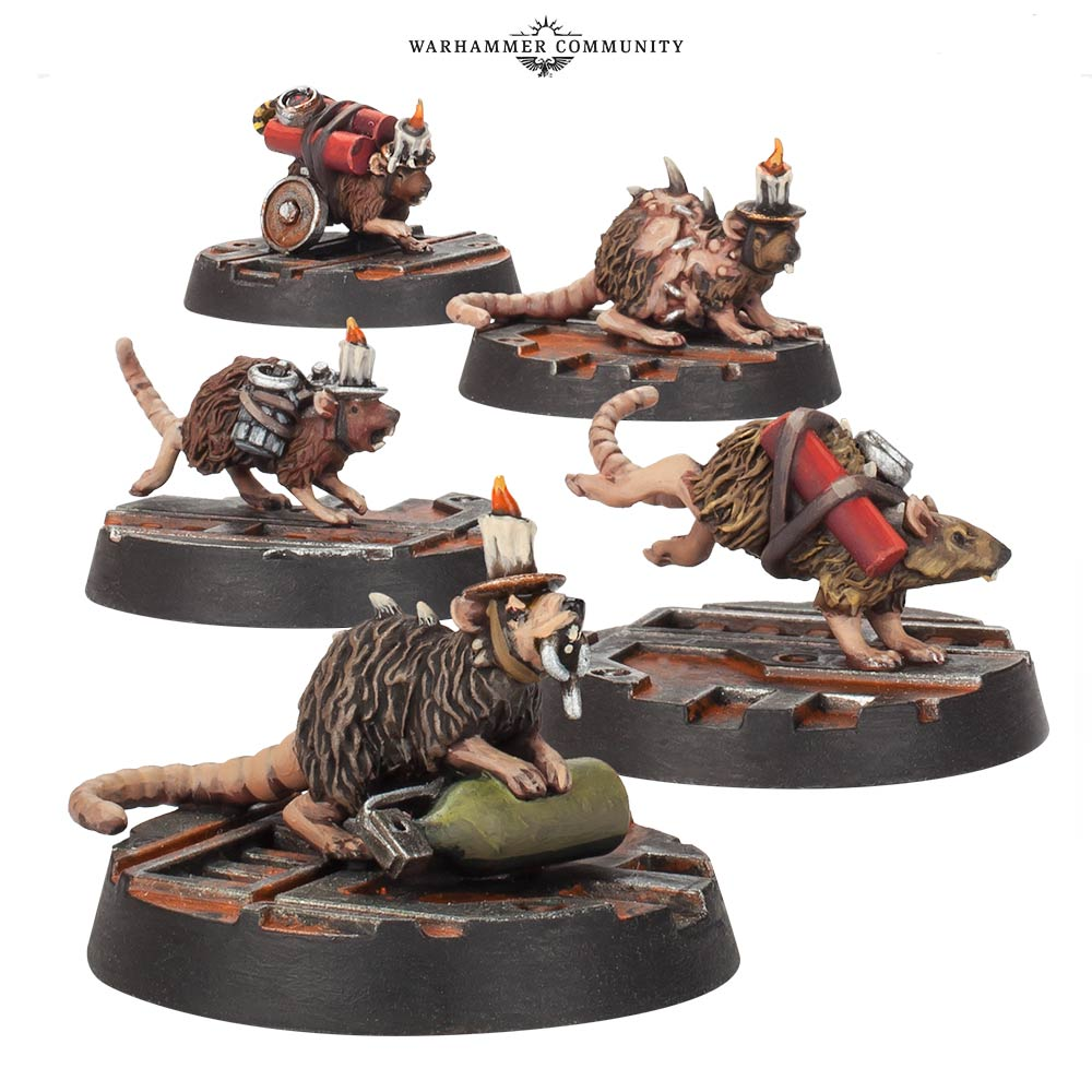 Bomb Rats - Forge World