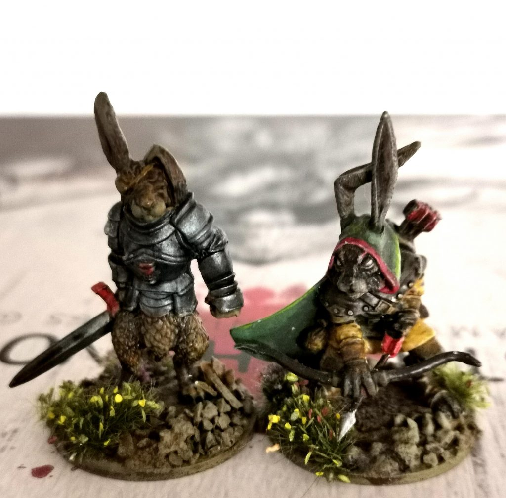 Burrows & Badgers Heroes - warhammergrimace