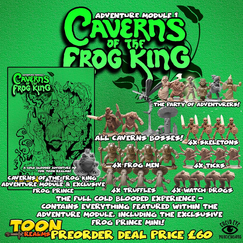 Caverns Of The Frog King - Lucid Eye