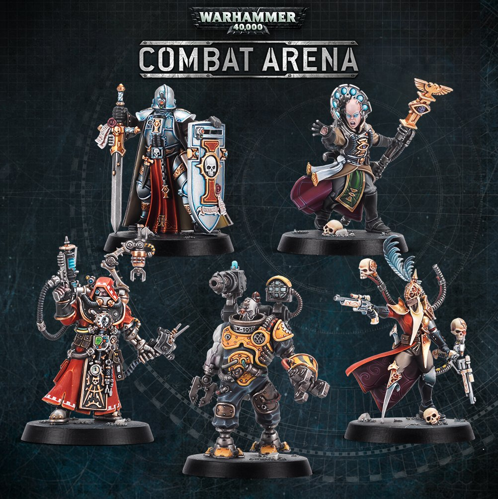 Combat Arena Heroes - Games Workshop