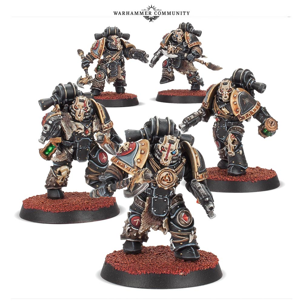 Deathsworn Space Wolves - Forge World