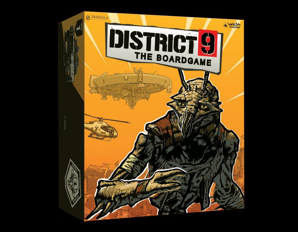 District 9 The Board Game - Weta Workshop