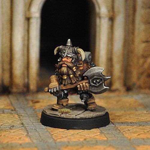 Evil Dwarf - Otherworld Miniatures