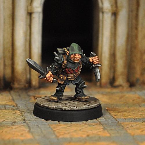 Evil Halfling Rogue - Otherworld Miniatures