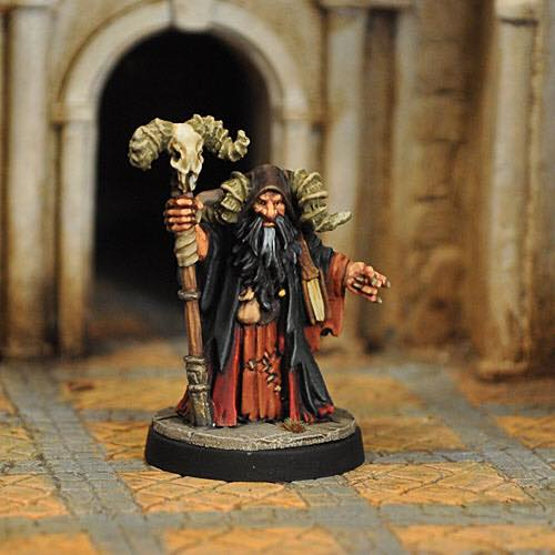 Evil Magic User - Otherworld Miniatures