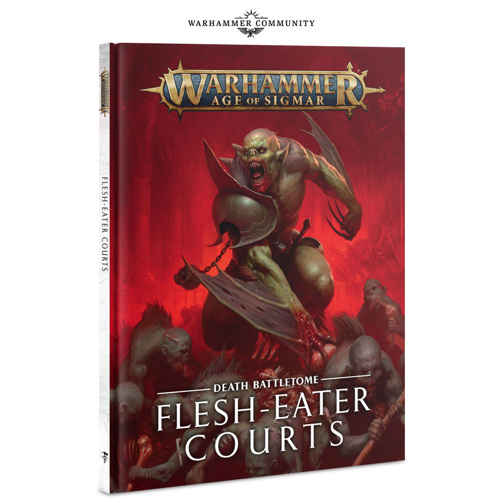 Flesh-Eater Courts Battletome - Age Of Sigmar