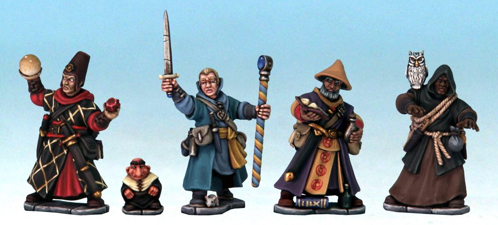 Frostgrave Plastic Wizards - North Star