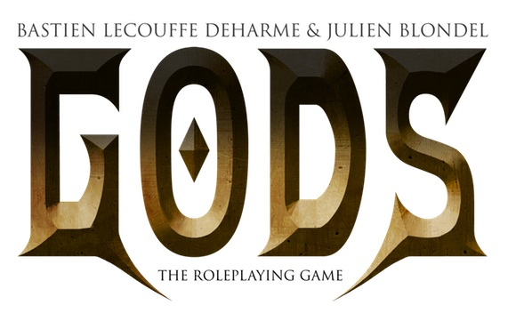 GODS The Roleplaying Game - Arkhane Asylum Publishing