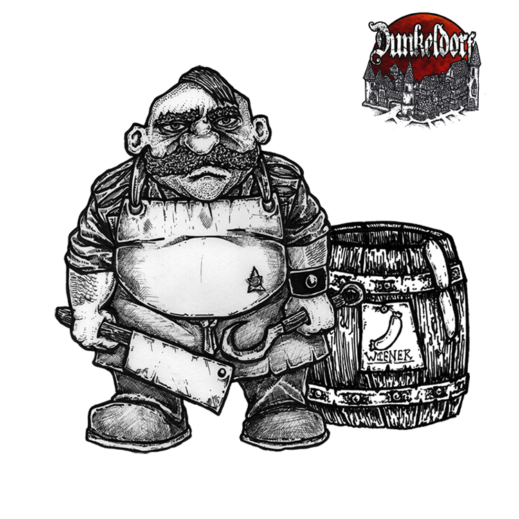 Gowak The Butcher - Dunkeldorf Miniatures