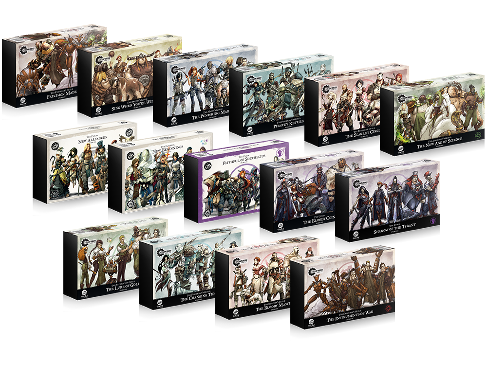 Guild Ball Metal Teams - Steamforged Games