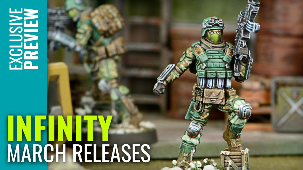 New Infinity Releases - March 2018!