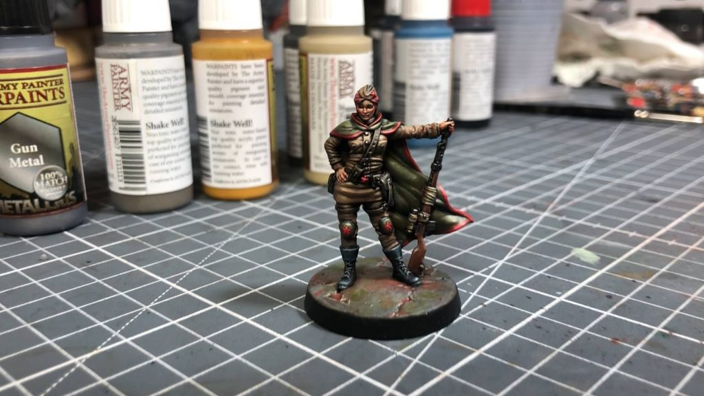 Leo's Red Hawk - Army Painter
