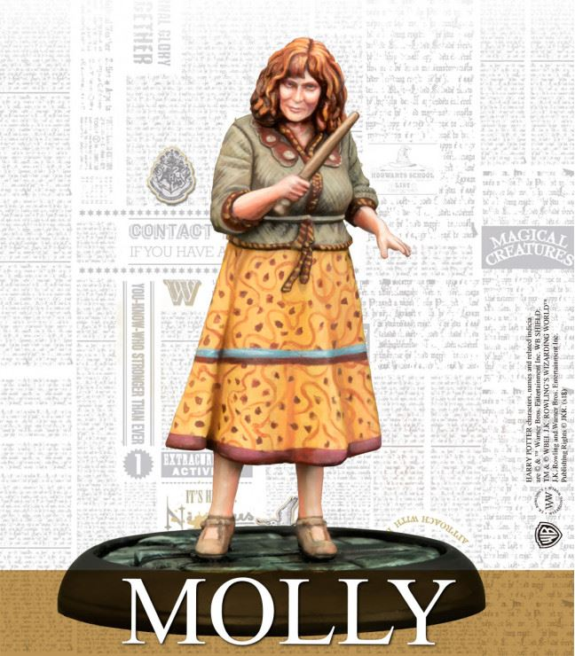 Molly Weasley - Knight Models