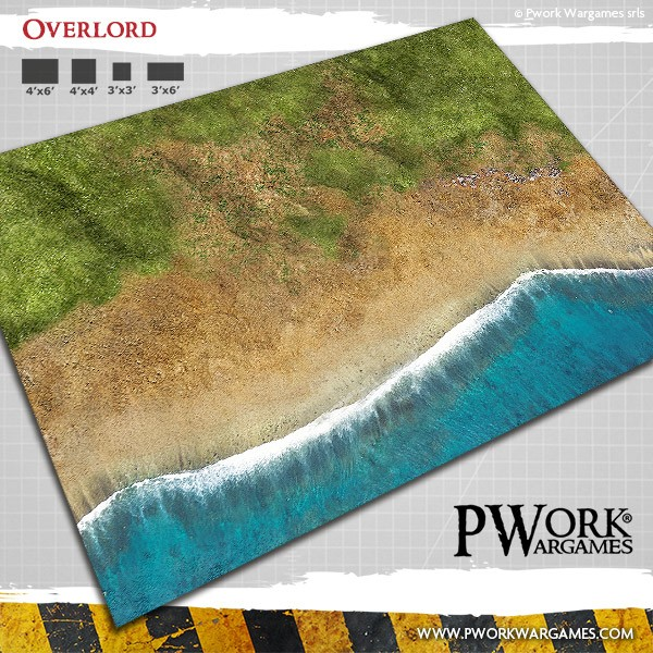 Overlord Mat #1 - PWork Wargames