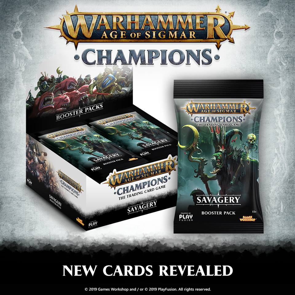 Savagery Cards - Age Of Sigmar Champions