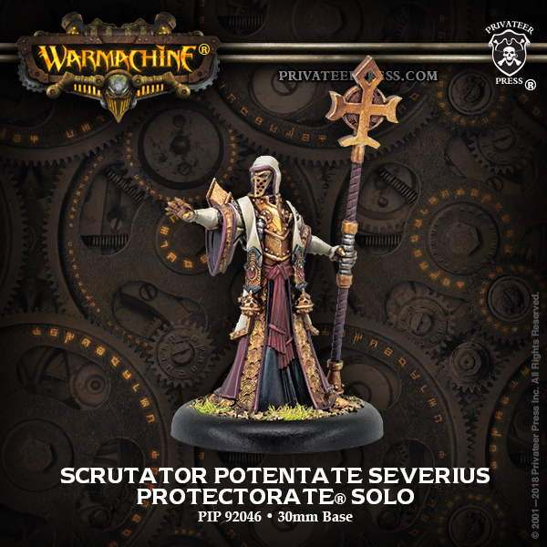 Scrutator Potentate Severius - Warmachine