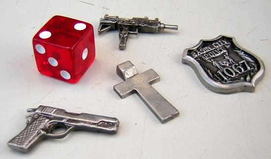 Sin City Board Game Tokens