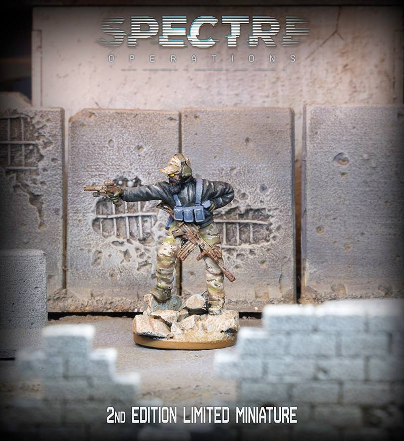 Spectre 2nd Edition Special Miniature - Spectre Miniatures