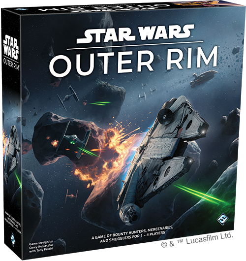 Star Wars Outer Rim - Fantasy Flight Games