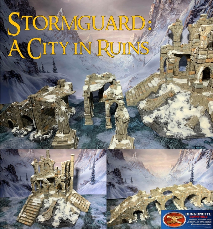 Stormguard A City In Ruins Terrain #1