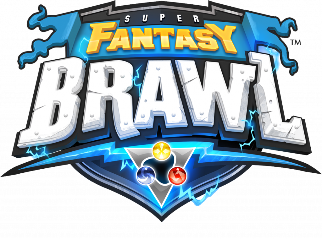 Super Fantasy Brawl Logo - Mythic Games