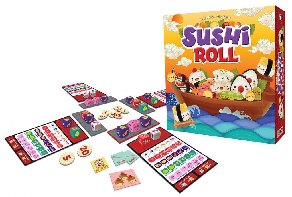 Sushi Roll Gameplay - Gamewright