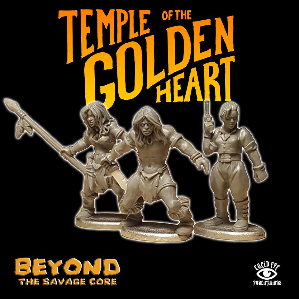 Temple Of The Golden Heart - Lucid Eye
