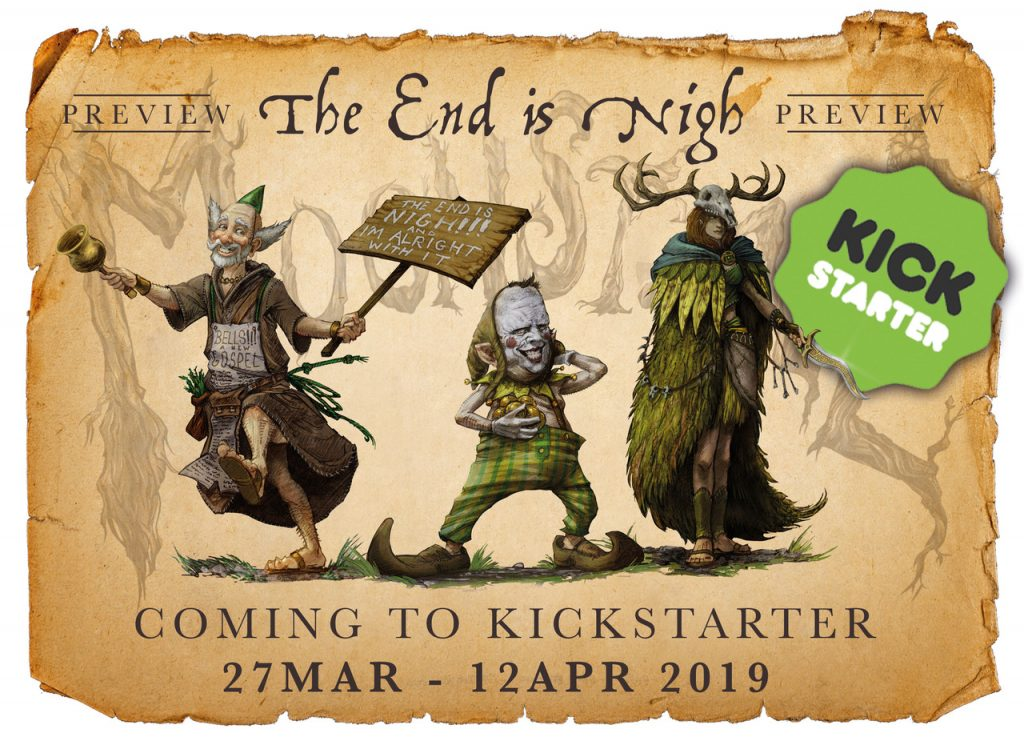The End Is Nigh Launch - Moonstone
