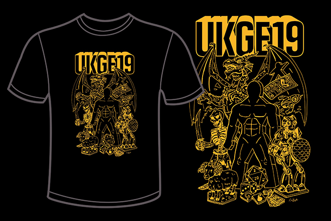 UKGE 19 T-Shirt - UK Games Expo