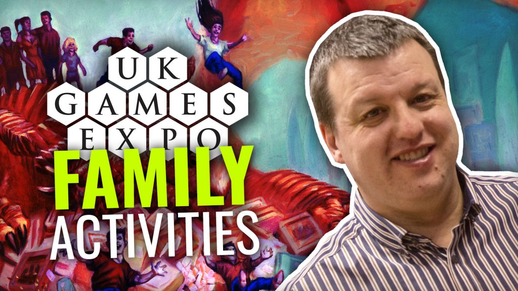 Family Activities At UK Games Expo 2019