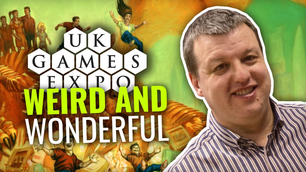 Weird & Wonderful Sights At UK Games Expo 2019