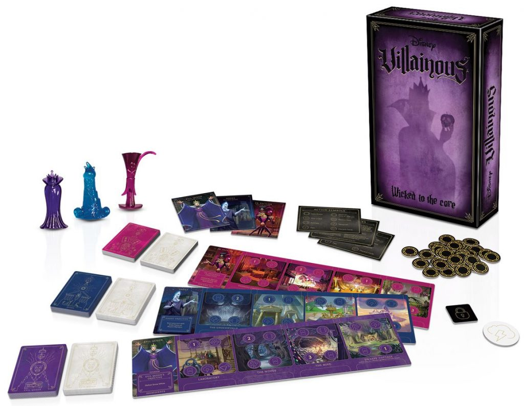 Villainous Wicked To The Core (Contents) - Ravensburger Spieleverlag GmbH