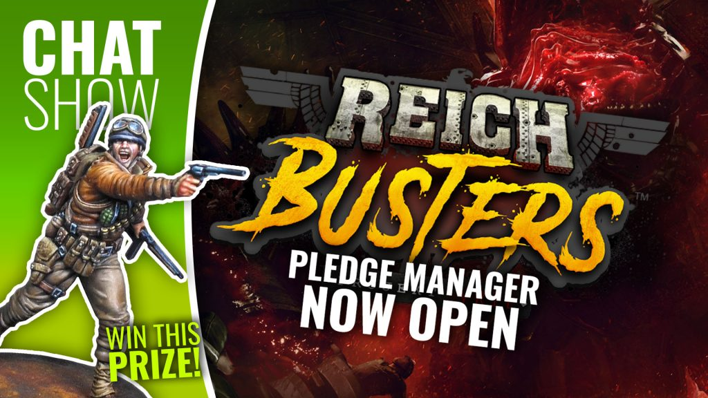 Weekender: Reichbusters Late Pledges & Recruit A Gamer Month!